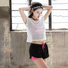 3pcs Women Jogging Fitness Bra Vest Gymwear Sports Wear Crop-top Yoga Exercise Tank Tops