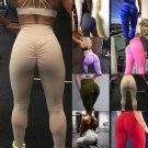 Women PUSH UP Yoga Leggings Pilates Pants Fitness High Waist Sport Jogging Gymwear