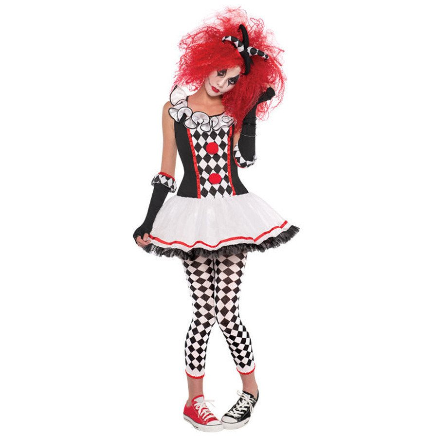 2020 Funny Actors Stage Performance Costumes Halloween Party Uniforms Circus Clown Costumes