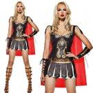 Medieval Spartan Warrior Costume Ancient Greek Mythology Warrior Gladiator Halloween Uniform