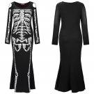 2020 Devil Skeleton Make Up Fancy Dress for Halloween Horrible CosplayCostume