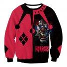 Horrors Clown Print Halloween Hoodies Fashion Sweatshirts for Women