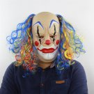 Performance Props Horror Ghost Funny Latex Mask Curly Bald Clown Halloween Prom Outlet