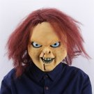 Child's Play Mask Movie Props Chithua Latex Mask Halloween Bar Dance Party Terrorist Headgear