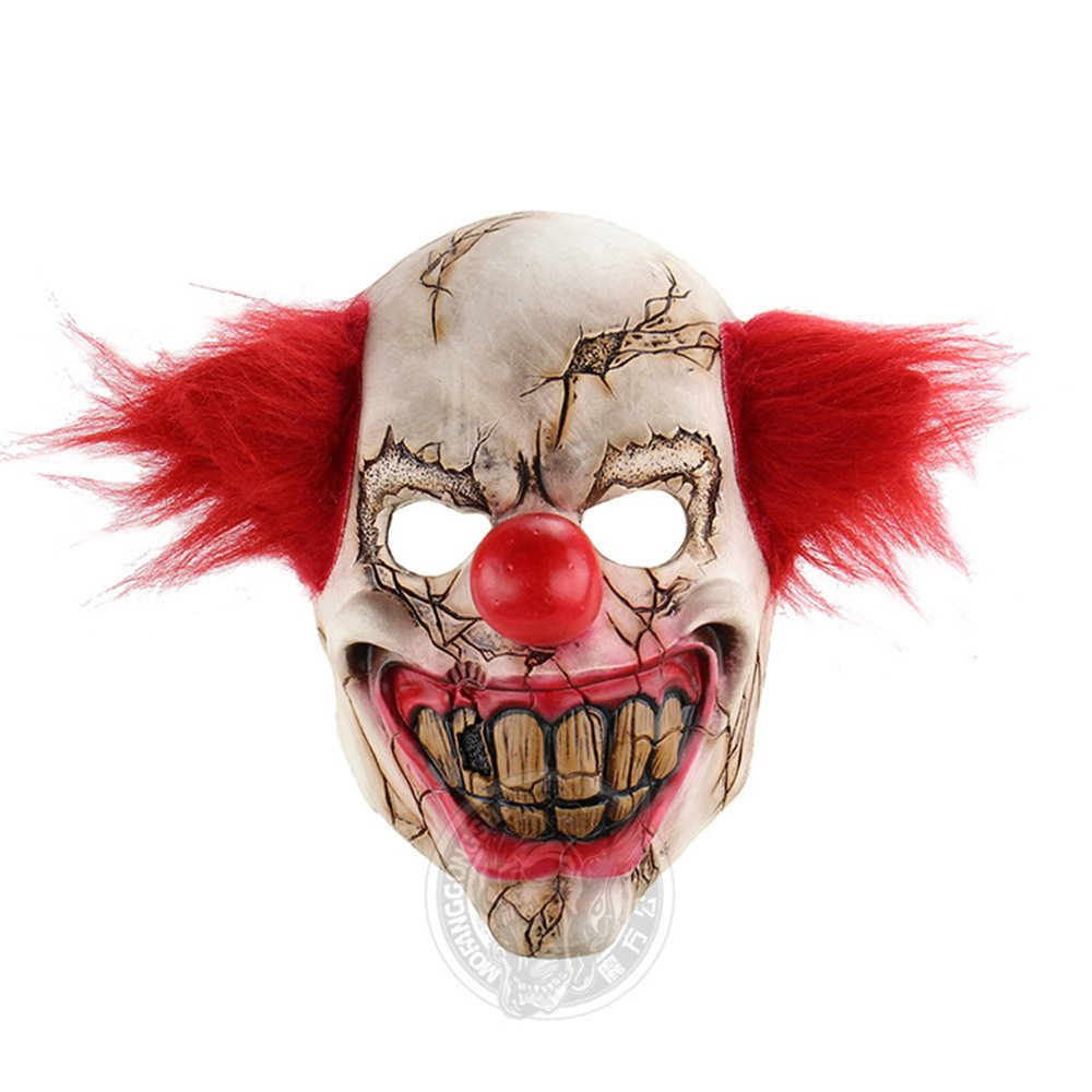 Halloween Melbourne Corpse Horror Ghost Clown Headgear Day Funny Bar Party Props Joker Scary Mask