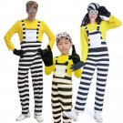 3PCS Halloween Cartoon Fancy Dress For Parent-child Outfit Anime Cosplay Party Costume