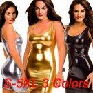 Plus Size 4XL Nightclub Bar Clubwear Sexy Bodycon Mini Dresses Scoop Neck Party Dress for Women
