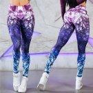 Mandala Leggings Cube Magic Print Trousers Put Hip High Waist Legging Slim Pants Fitness Sweatpants