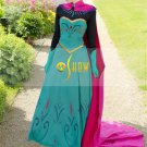 Movie Frozen Princess Anna Fancy Dress Carnival Halloween Cosplay Anna Costumes