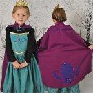 Children Princess Anna Movie Frozen Cosplay Costumes Kid Anna Fancy Dress For Halloween