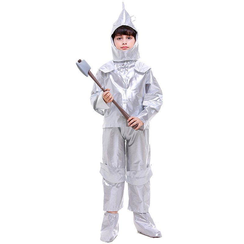 The Wizard of OZ Fancy Dress Children Carnival Clothing Kid Hickory The Tin Man Cosplay Costume