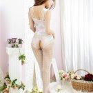 Jacquard Hollow Pajamas Costume Bodystockings Mesh Jumpsuit sexy Underwear