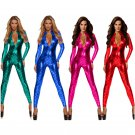 Halloween Mermaid Scale Catsuit Sexy Carnival Costumes Catwoman Nightclub Bar Fetish Jumpsuit