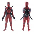 Adult Deadpool Costumes Movie Cosplay Jumpsuit with Outfits