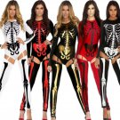 Sexy Vampire Bride Halloween Cosplay Costume Skeleton Zombie Uniform Nightclub DS Jumpsuit
