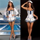 Carnival Sailor Cosplay Costume Navy Fancy Dress Mardi Gras Outfits