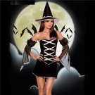Gothic Beauties Outfits Carnival Evil Fancy Dress Uniform Halloween Witch Cosplay Costumes