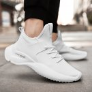 Men Jogging Designer Shoes Full White Luxury Anti-Slippery Sneakers Male Brand Spring Rugged Shoes