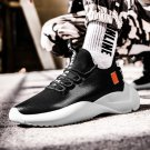 Men's Fashion Shoes Faux Leather Sneakers Young Man Ultra Lightweight Walking Shoes Hot In Ins