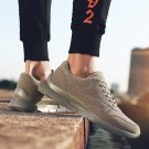 Khaki Autumn Street Leisure Shoes Casual Jogging Shoes Winter Rugged Sneakers