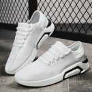 Young Man Casual Street Walking Shoes Male Balmorals Leisure Sneakers Faux Leather Shoes