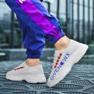 White Fly Knittied Sneakers Casual Men Ulzzang Street Summer shoes Fashion Shoes