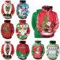 Christmas Couples Sweaters Women Casual Sweatshirts Unisex Santa Claus Digital Printing Hoodies