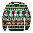 Women Christmas Clothes Full Sleeve Winter Xmas Hoodies Ladies Santa Claus Printed Sweatshirts