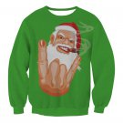 Cartoon Steampunk Santa Sweatshirt Ladies Winter Streetwear Novelty Merry Christmas Hoodies
