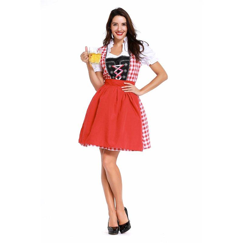 Carnival Mardi Gras Party Dance Dress Women German Oktoberfest Costumes Bavarian Uniform
