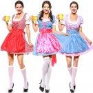 Women German New Year Oktoberfest Costume Carnival Beer Girl Fancy Dresses