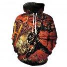 Plus Size Christmas Gift Venom Hoodies Super Hero Unisex Cartoon Cosplay Sweatshirts Costume