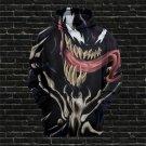Punk Christmas Gift Venom Shirts Winter Comic Movie Couples Streetwear Unisex Hoodies
