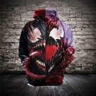 Unisex Christmas Gift Superhero Venom Hoodies Comics Movie Winter Outerwear Sweatshirts