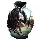Fashion Shirts Winter Christmas Gift Superhero Movie Hoodies Venom Sweatshirts Comics Tops