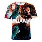Men Arthur Curry Shirt Short Sleeve 3D Printed Summer Tees Super Hero Comic Aquaman Orin T-Shirts