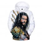 3D Print Superhero Streetwear Comic Aquaman Orin Hoodies Men Winter Arthur Curry Sweatshirt