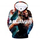 Plus Size Men Arthur Curry Sweatshirt Large Size Male Winter Superhero Aquaman Orin Hoodies