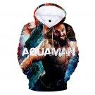 Plus Size Men Arthur Curry Sweatshirt Large Size Male Winter Superhero Aquaman Orin Hoodies
