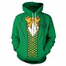 Men St. Patrick's Day Hoodies Long Sleeve Streetwear Male Novelty Spring 3D Suit Print Sweatshirt