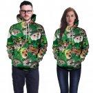 Leprechaun Tops Lover Streetwear Dog Cat Hoodies Plus Size Casual St. Patrick's Day Sweatshirt