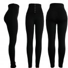 Plus Size XL Casual Hook Girdle Trousers High Waist Skinny Fashion Fly Peach Hip Lift Butts Pants