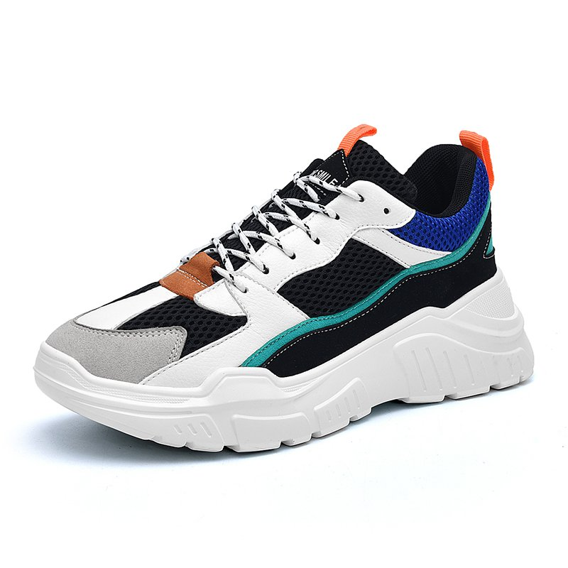 USA Speed Trainer Breathable Men Spring Shoes Sport Casual Shoes Size 36-44 Mesh Clunky Sneaker