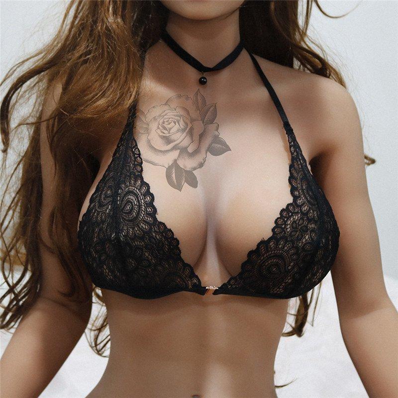 Plus Size Tops Valentine Lingerie Ultra Thin France Romantic Underwear