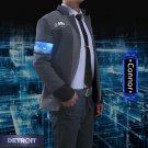 3D Game Connor Coat Shirt Tie Cosplay Outfits Detroit Become Human Uniform Costume