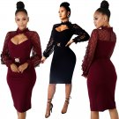 Women Bodycon Casual Dresses Fall Spring Break Clothes Sequins Party Dress Fashion Clothing