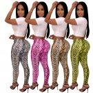 Novelty Python Printing Leggings Casual Slim Capris Cotton Trousers Boa Print Skinny Pants