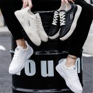 American Street Style Sneakers Winter Faux Leather Shoes Spring Trainers Little White Casual Shoes