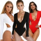 Hollow Out Swimsuits Summer Vacation Outfits Sexy Monokinis Swimwear Vintage Bathing Suit
