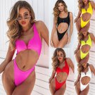 Sport Bathing Suits Sexy Brazilian Swimsuits High Waist Bikinis Zipper Monokini Swimwear